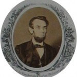 Photograph of Lincoln on the Emancipation Proclamation