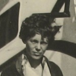 Amelia Earhart, silver gelatin photograph, c. 1930s